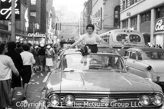 1960 World Series: Rickerby: Negatives Only: Pittsburgh Celebrations x12