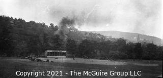 Vintage Baseball Negative: Elmhurst Park Baseball Field; c 1920's