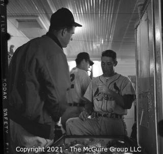 Vintage Baseball Negative: Don Blasingame Grouping