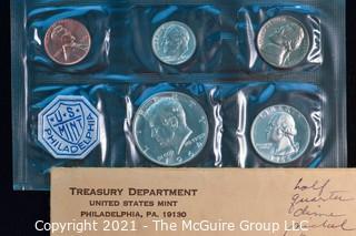 Numismatic: U.S. Coins: 1964 Mint Set