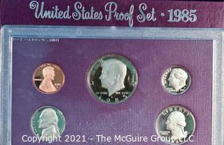 Numismatic: U.S. Coins: 1985 Proof Coin Set