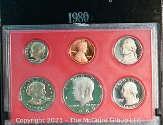 Numismatic: U.S. Coins: 1980 Proof Set
