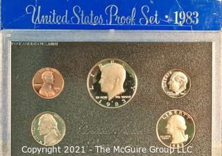 Numismatic: U.S. Coins: 1983 Proof Set