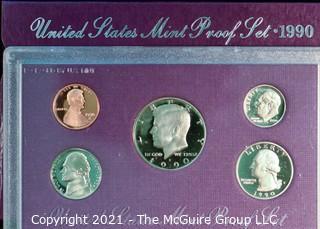 Numismatic: U.S. Coins: 1990 Mint Proof Set