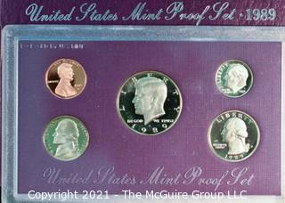 1989 Mint Proof Set