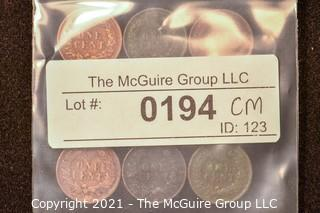 Numismatic: U.S. Coins: (9) Lincoln Wheat Cents