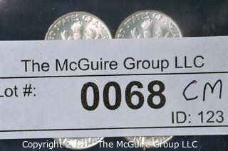 Numismatic: U.S. Coins: (4) Roosevelt Silver Dimes