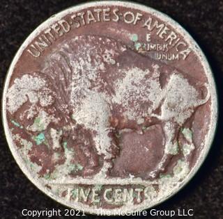 Numismatic: U.S. Coins: (1) Buffalo Nickel