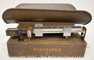 Vintage Fairbanks Merchant General Store Counter Scale.