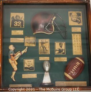 Shadow Box Frame for Displaying Sports Memorabilia