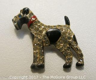 Sterling canine pin