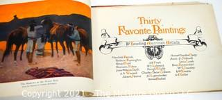 Antique Thirty Favorite Paintings by Leading American Artists, Published by P. F. Collier & Son, 1908.