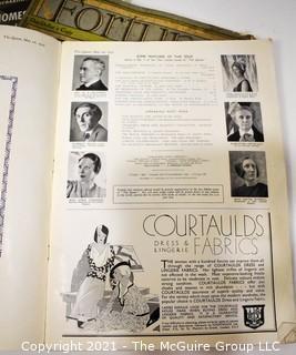 Assortment of Popular Magazines, circa 1911-1931