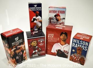 Assortment of Washington Nationals Baseball MLB Bobblehead Stadium Giveaways