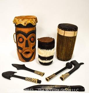 Assorted Ethnographic Drums