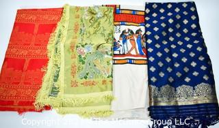 Group of Four (4) Textile Items.