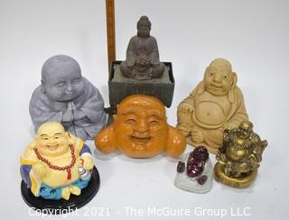 Assorted Laughing Buddah's