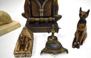 Group of Contemporary Egyptian Decorative Items