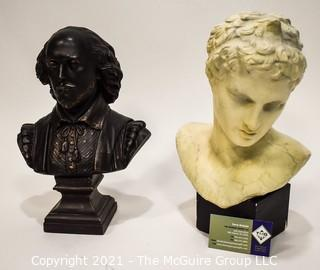 Two (2) Decorative Busts