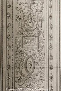 French Natural History Museum; architectural drawing of Mr. Cesar Daly