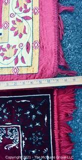 Two (2) Prayer Rugs