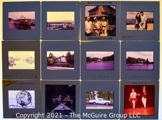 Collection of mid-century 35mm slides