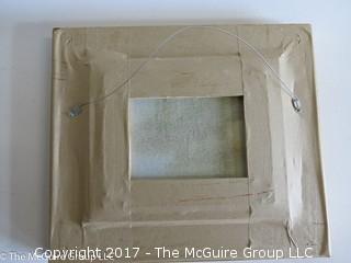 """Shorleine""; original framed painting on canvas; 14 1/2 x 16 1/2"""