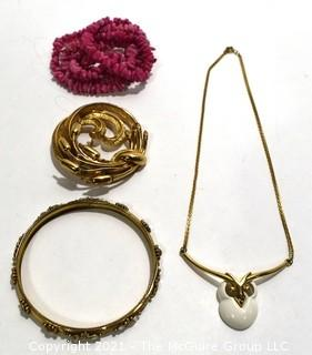 Group of Vintage Costume Jewelry.