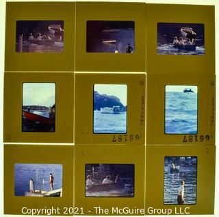 (9) 1960's 35MM Slides by Iconic Photographer Arthur Rickerby NOTE: Additional photos were added 9/18 @11:39am