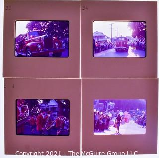 (4) 1960's 35MM Slides by Iconic Photographer Arthur Rickerby
