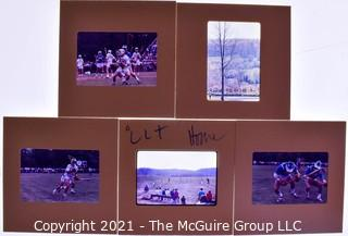 (5) 1960's 35MM Slides by Iconic Photographer Arthur Rickerby