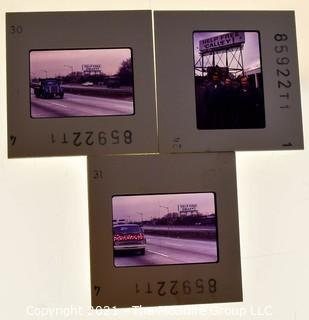 (3) 1960's 35MM Slides by Iconic Photographer Arthur Rickerby