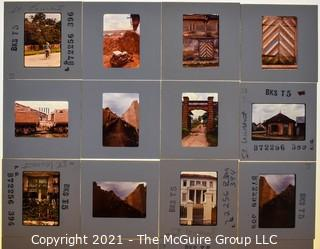(9) 1960's 35MM Slides by Iconic Photographer Arthur Rickerby