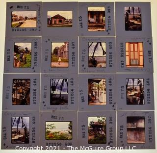 (16) 1960's 35MM Slides by Iconic Photographer Arthur Rickerby NOTE: Additional photos were added 9/18 @11:39am
