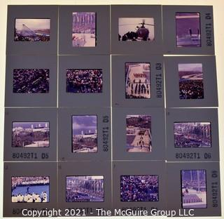 (16) 1960's 35MM Slides by Iconic Photographer Arthur Rickerby