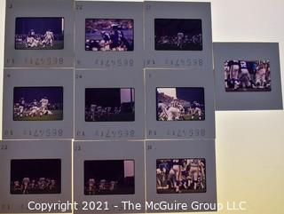 (10) 1960's 35MM Slides by Iconic Photographer Arthur Rickerby