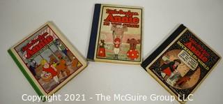 Three (3) Vintage Editions Little Orphan Annie by Harold Gray