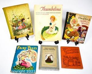Six (6) Vintage Children's Books