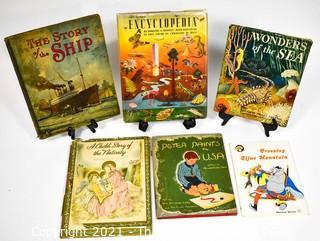 Six (6) Vintage Children's Books.