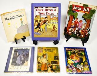 Six Vintage Chilren's Books.
