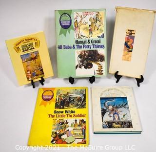 Five (5) Vintage Children's Books.