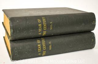 "Two (2) Bound ""The Century Illustrated Monthly Magazine"" Volume XLV 1892 - 1893 & Volume XLVL 1893"