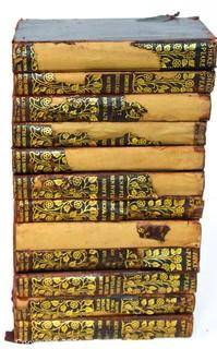 Twelve (12) Leather Bound Volumes of The Comedies, Histories, Tragedies, and Poems of William Shakespeare by Richard Grant White, 1911.  Leather Bound, Spines in Poor Condition