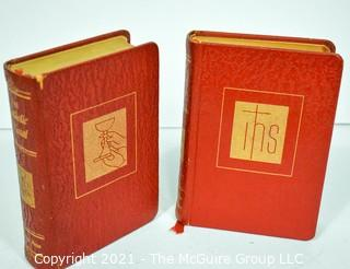 Two (2) Volumes of The Catholic Missal.
