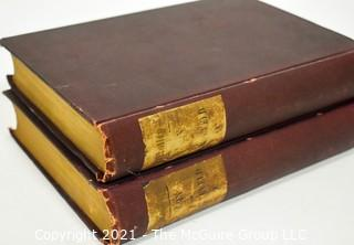 Two (2) Volume Set of The Life and Death of John Barneveld by John L. Motley Harper and Brothers 1874