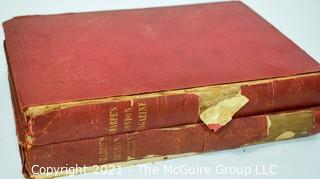 Two (2) Bound Volumes of the 1845 - 1846 Sharpe's London Magazine, A Journal - Entertainment & Instruction, Multiple Authors and Illustrators.