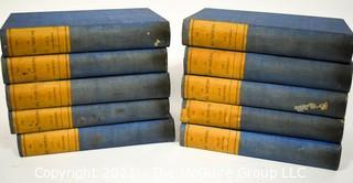 The Literature of All Nations, 10 Volume Set. by Hawthorne, Julian.