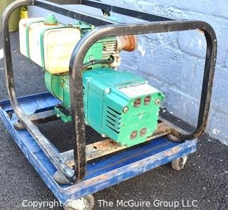 Coleman 54 Series 4kw Powermate Electric Generator. 8HP Briggs and Stratton Engine (Runs but there is a leaky fuel line)