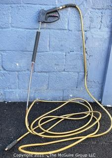 Power Washer Hose and Nozzle