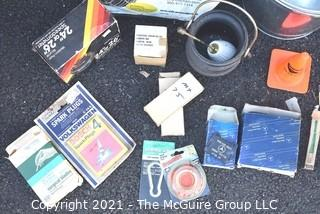 Group of Automotive Related Items including NOS OEM Mercedes Brake Pads